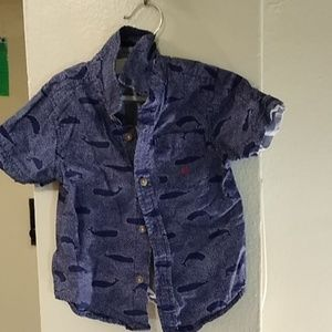 Nautica and Levi's 2T short sleeve button downs